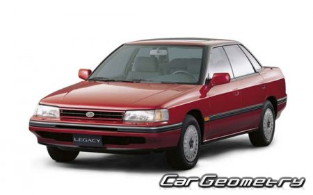 Subaru Legacy I 1989-1994 (BC) и Station Wagon (BJF)