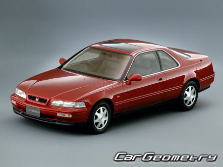 Honda Legend 1991-1995 (Sedan, Coupe) EURO и Acura Legend 1991-1995 (Sedan, Coupe) USA
