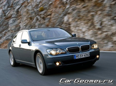 BMW 7 Series (E65 и E66) 2001-2008 (Short and Long base)