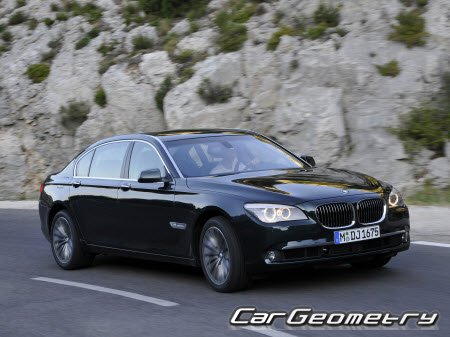BMW 7 Series (F01 и F02) 2009-2016 (Short and Long base)