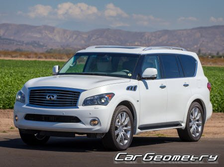 Infiniti QX80 (Z62) 2013-2017 Body Repair Manual