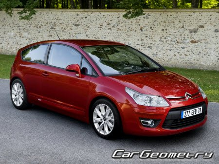 Citroen C4 (3DR Coupe, 4DR Pallas, 5DR Berline) 2005-2010