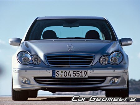Mercedes C-Class W203 2000-2007 (Sedan, Coupe, Wagon)