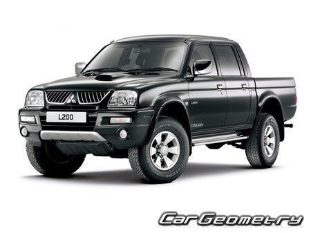 Mitsubishi L200 1996–2006 Repair Manual