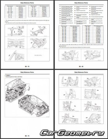 Subaru Impreza WRX 2008–2013 (Sedan и Hatchback) Body Repair Manual