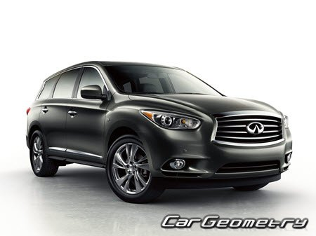 Infiniti QX60 (L50) 2014-2016 Body Repair Manual