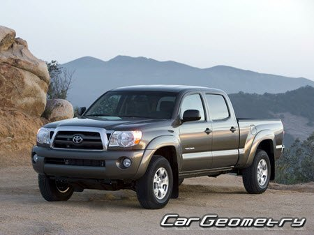 Toyota Tacoma 2005–2015 (Access Cab, Regular Cab, Double Cab)