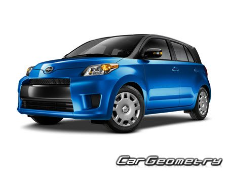 Scion xD (ZSP110) 2008-2014 Collision Repair Manual