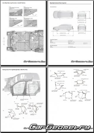 Acura MDX (YD3) 2014–2016 Body Repair Manual