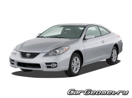 Toyota Camry Solara (ACV30 MCV31 MCV31L) 2004-2008 Coupe Convertible