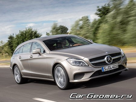 Mercedes CLS-Class Shooting Brake (X218) 2013–2018
