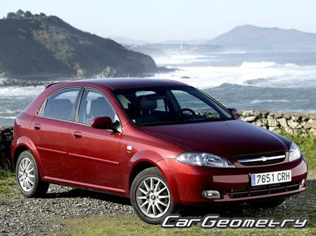 Chevrolet Lacetti 2005–2013 (Hatchback)