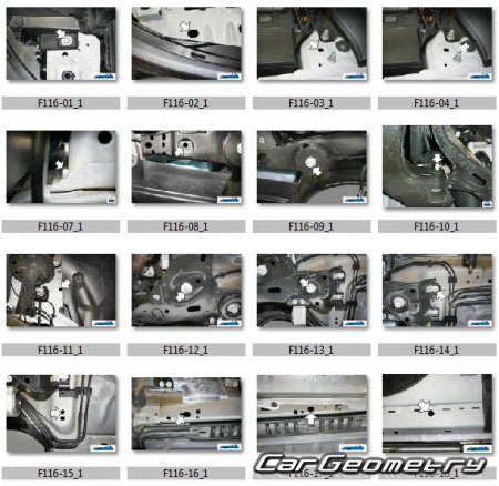 Ford Explorer 2011-2018 Body Repair Manual