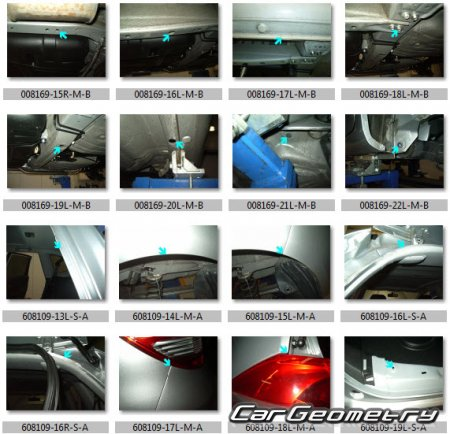 Honda JAZZ HYBRID (GP1) 2010-2014 Body Dimension
