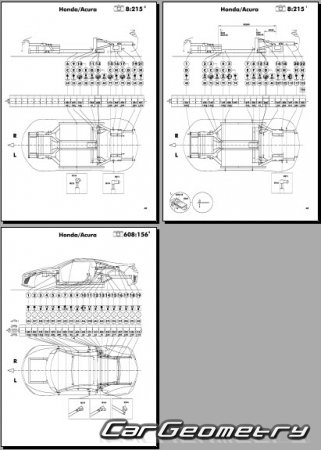 Honda NSX (Acura NSX) 2016-2023 Body Repair Manual