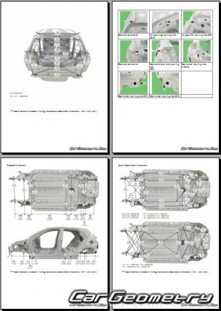 Kia RIO (SC) 2017–2022 (Sedan, Hatchback) Body Repair Manual
