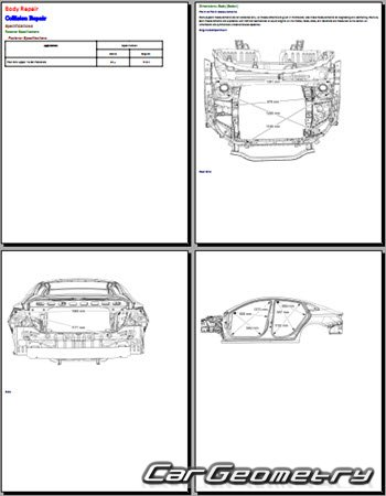 Chevrolet Malibu 2016-2020 Collision Manual