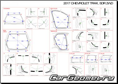 Chevrolet Trax 2016-2019 Collision Manual