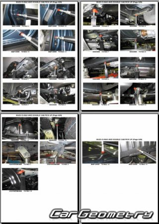 Isuzu D-Max (TFR/TFS) 2012-2018 Body Repair Manual