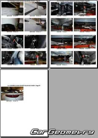 Размеры кузова Kia ProCeed (CD) Shooting Brake 2019-2024 Body Repair Manual